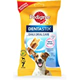 Pedigree Dentastix Small Breed Dog Oral Care, 110 g Weekly Pack (7 Sticks)