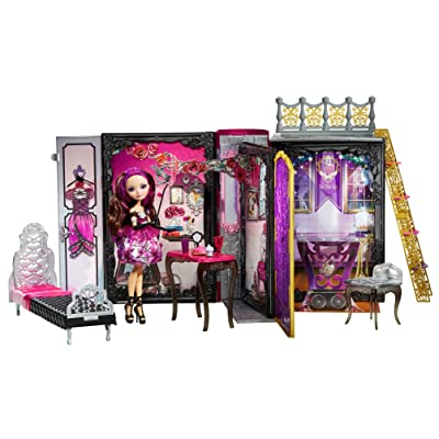 Ever After High Thronecoming Briar Beauty Doll and Furniture Set (Discontinued by manufacturer): Toys & Games