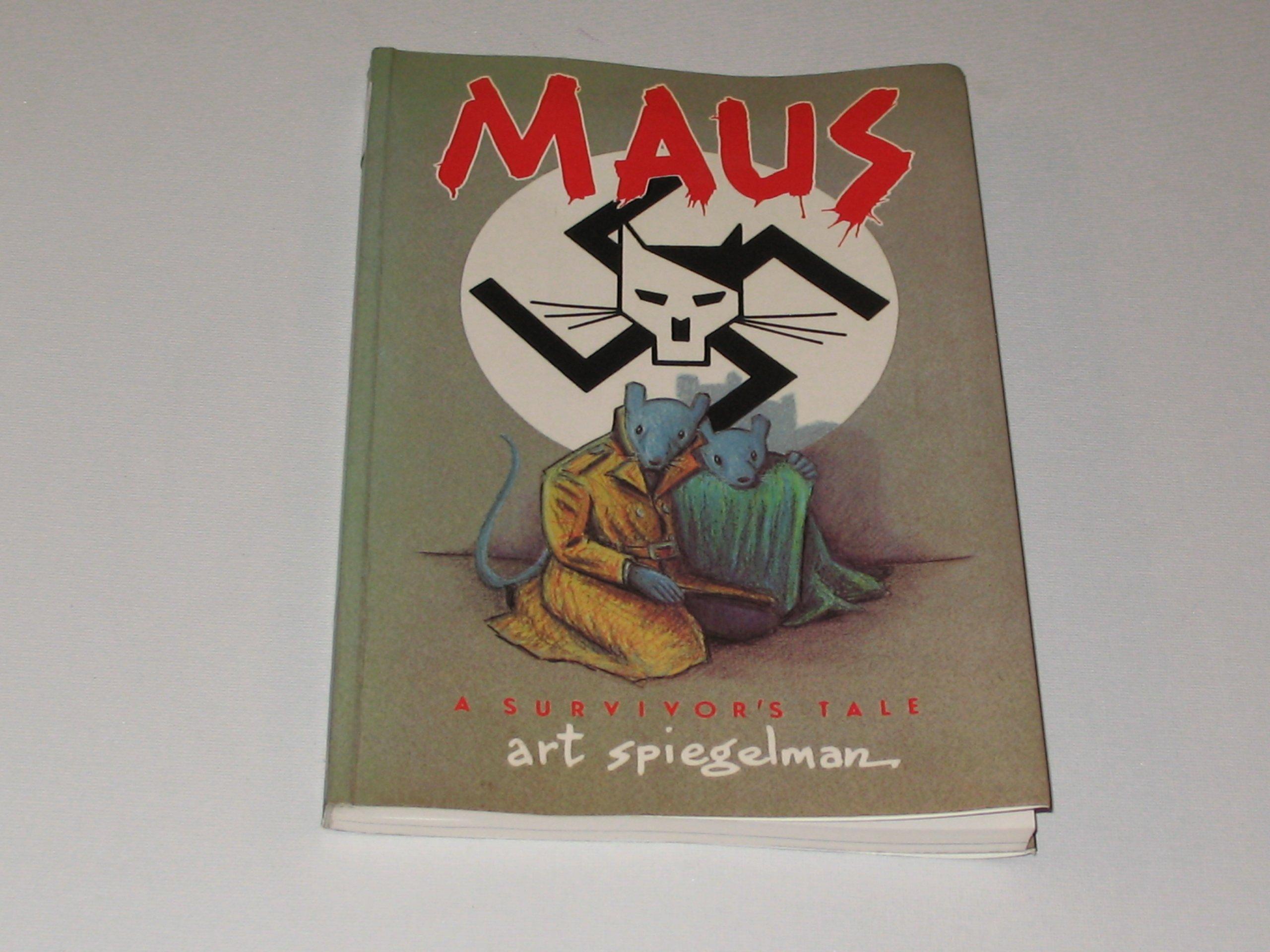 maus my father bleeds history pt 1 a survivors tale penguin graphic fiction