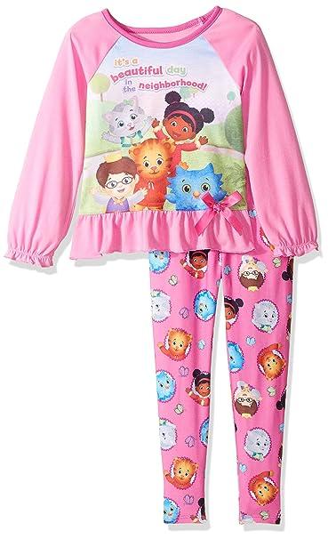Amazon.com: Daniel Tigre bebé niña 2 piezas Legging pijamas ...