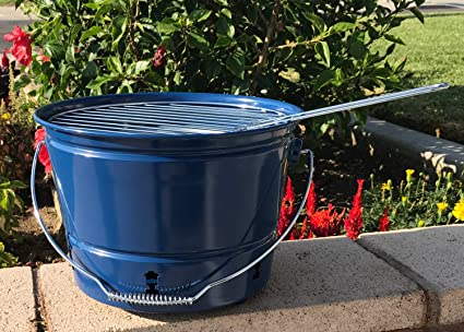 Amazon.com: Coleman Carbón Party Pail – Barbacoa de carbón ...