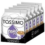 TASSIMO Milka Hot Chocolate 8 T DISCs (Pack of 5, Total 40 T DISCs) 40 Servings