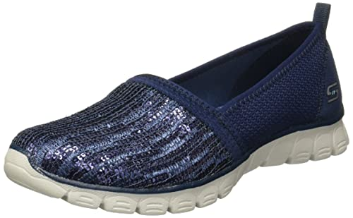 Skechers Women's EZ Flex 3.0 Oh So Fab Navy Casual Shoe