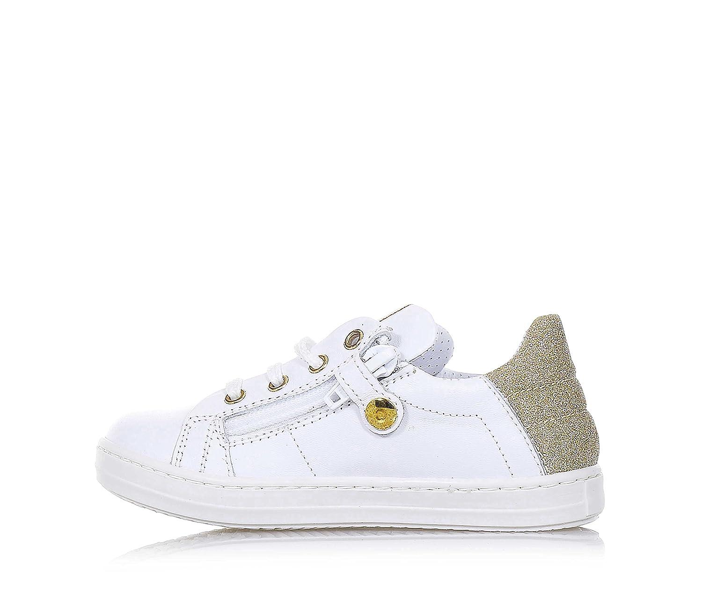 WALKEY - Chaussure à lacets en cuir blanc, fille-27: Amazon.fr: Chaussures  et Sacs