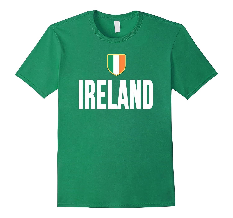 IRELAND T-Shirt Irish Pride Flag Tee Soccer Football Rugby-AZP