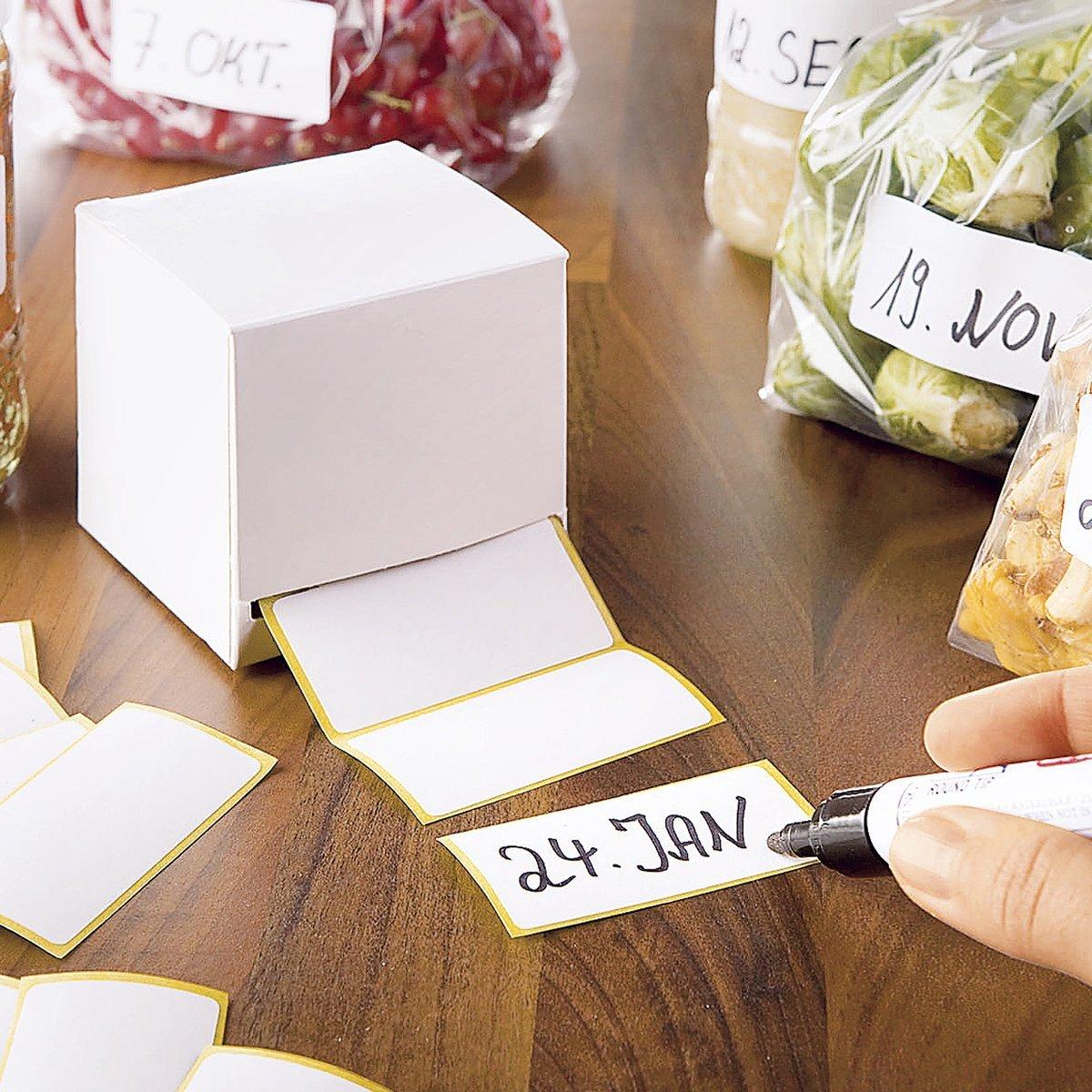 Etichette adesive dispenser 1 confezione incl