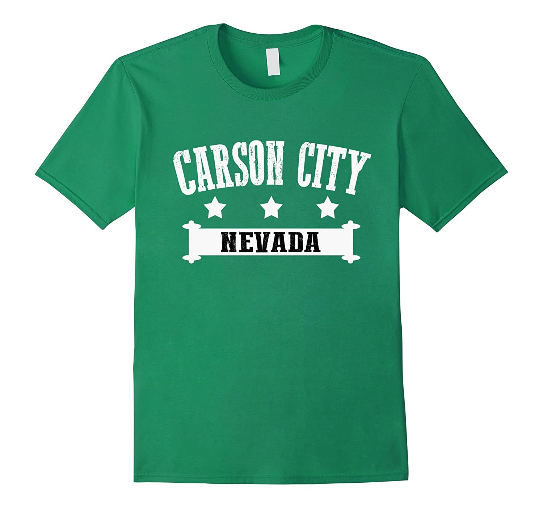 Carson City Nevada Destination Souviner T-Shirt-CD