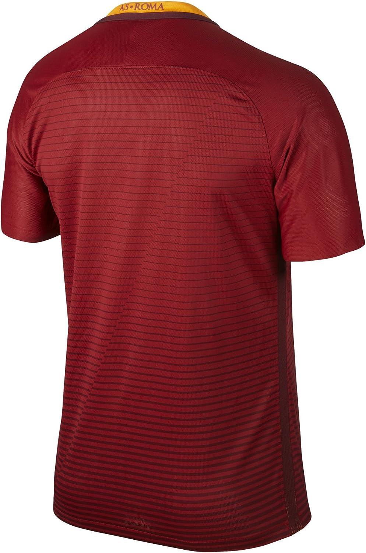 NIKE As Roma M SS Hm Match JSY Camiseta de Manga Corta, Hombre ...