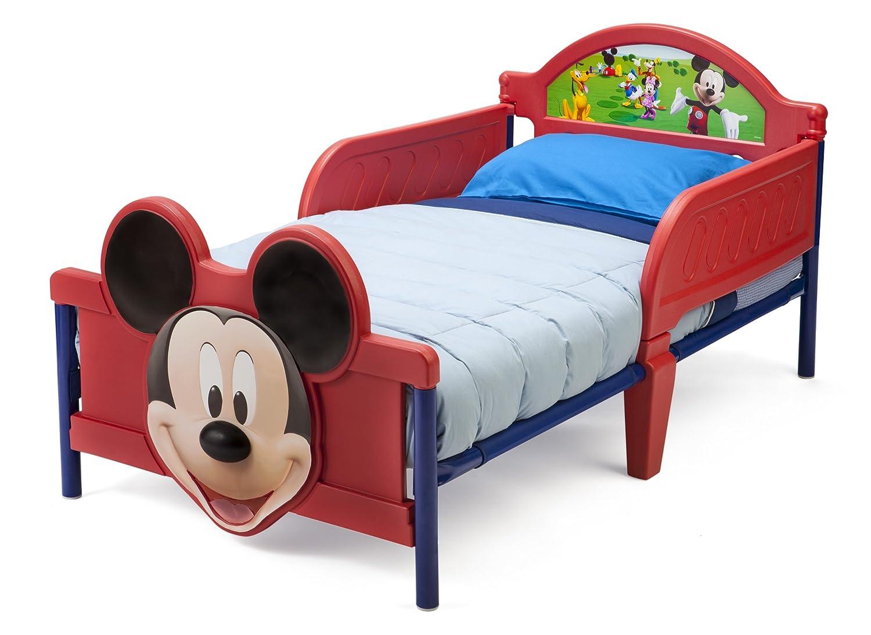 Rot Mickey Mouse Kleinkindbett Delta BB86681MM