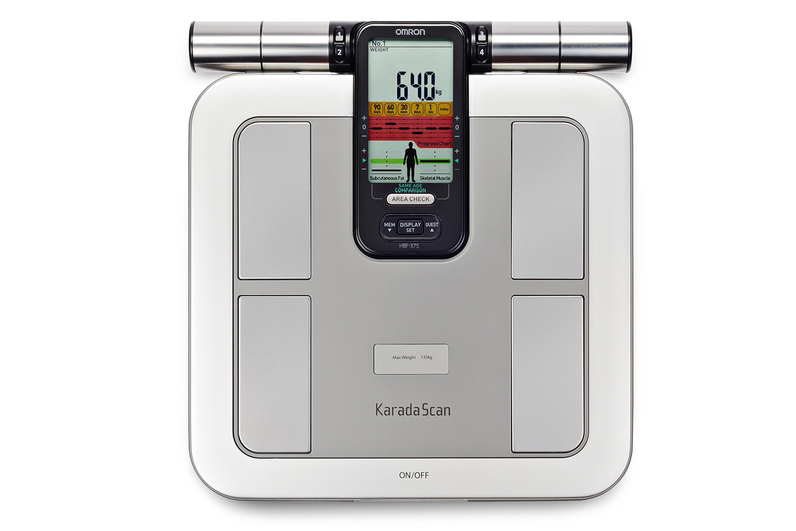 Omron KARADA Scan Body Composition & Scale | HBF-375 (Japanese Import)