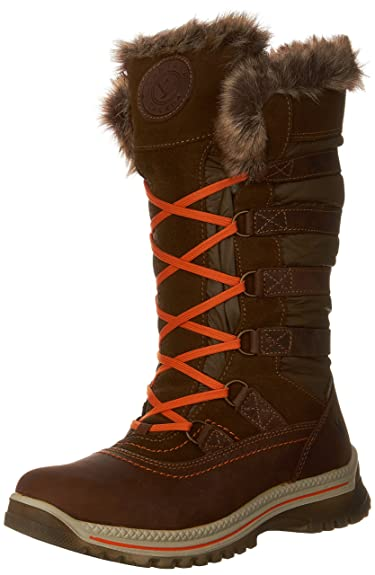 Santana Canada Premium Women's Waterproof Cold Weather Milani Tall Shaft  Boot with Strapping and Luxe Fur