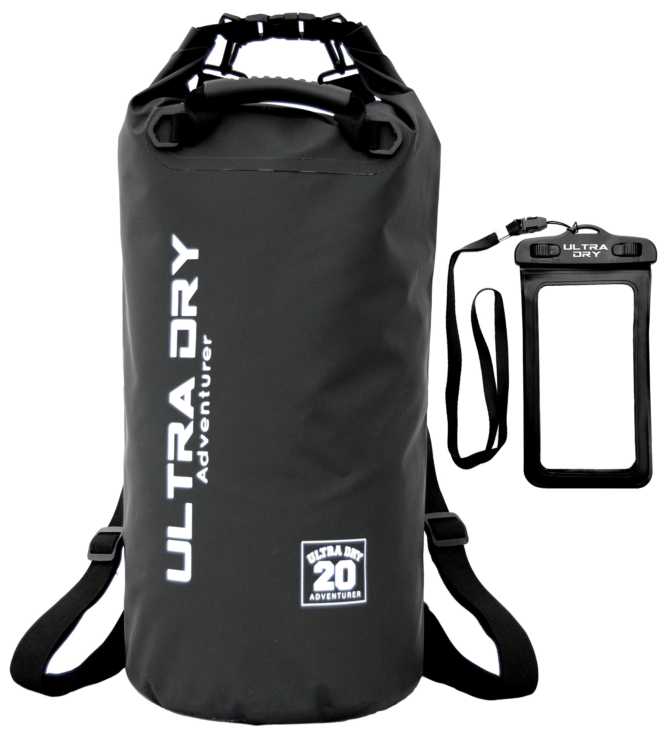 Ultra Dry Premium Waterproof Bag, Sack with phone dry bag and Long  Adjustable Shoulder Strap 15f7db99fb