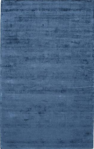 Rugs America Kendall Synthetic Rug, 2 x 3 , Blue Quartz