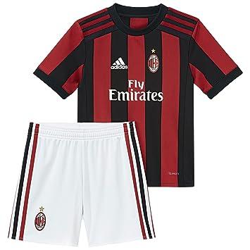 Adidas AC Milan H, Uniforme de fútbol Unisex Niños: Amazon.es: Deportes y aire libre