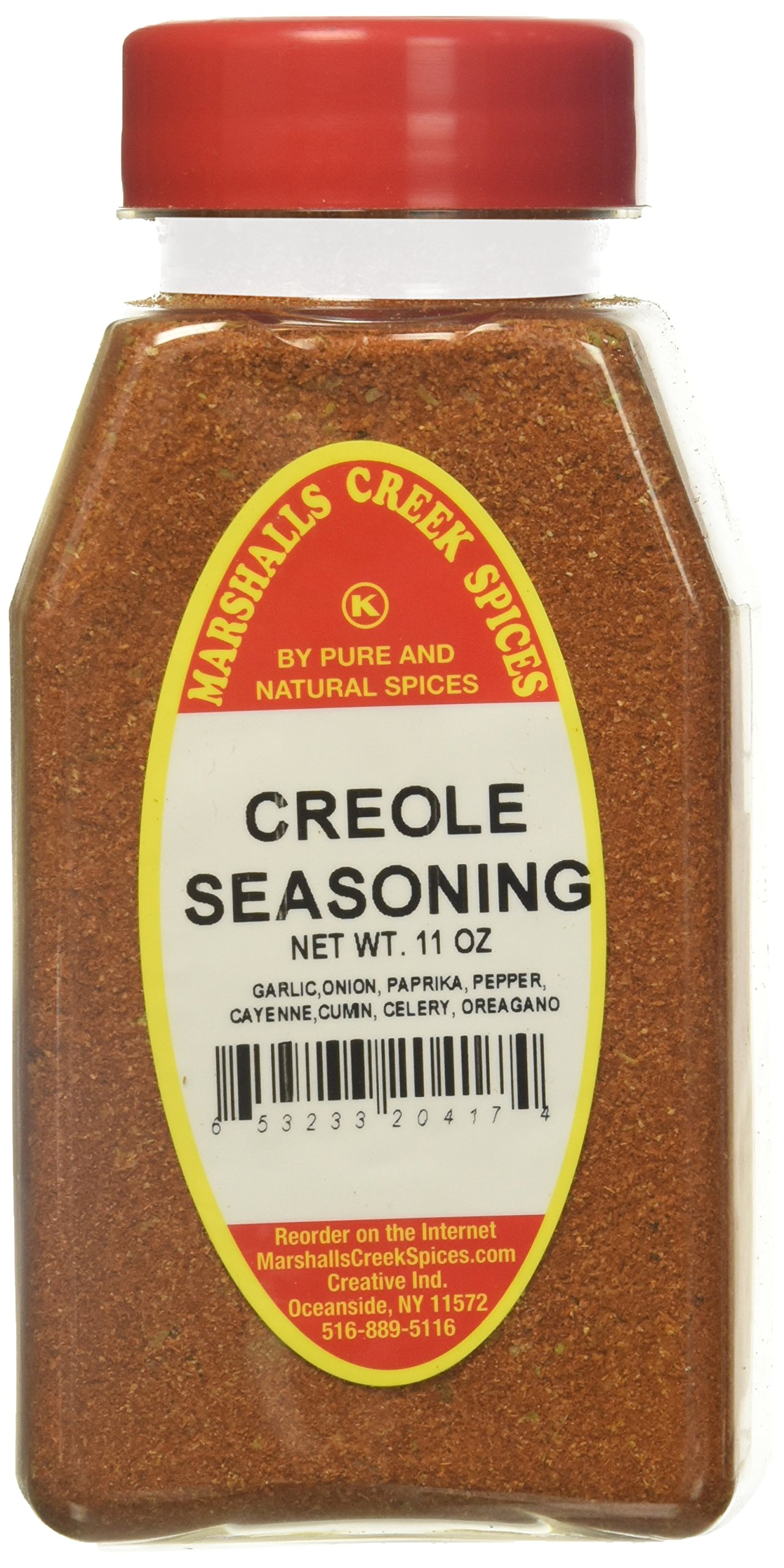 Marshalls Creek Kosher Spices CREOLE SEASONING NO SALT, 11 OZ