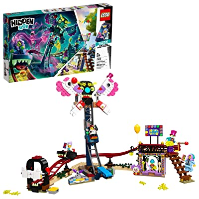 LEGO Hidden Side Haunted Fairground 70432 Popular Ghost-Hunting Toy, Cool Augmented Reality LEGO Set for Kids, New 2020 (466 Pieces): Toys & Games