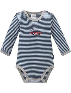 56 NEU Schiesser Baby Body Babybody halbarm Junge Baumwolle Gr