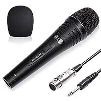 TONOR Microphone Dynamique Professionnel Avec 4,8m Câble Pour DVD/Télévision/KTV Audio/Réflecteur/Mélangeoir/Autobus De Tourisme