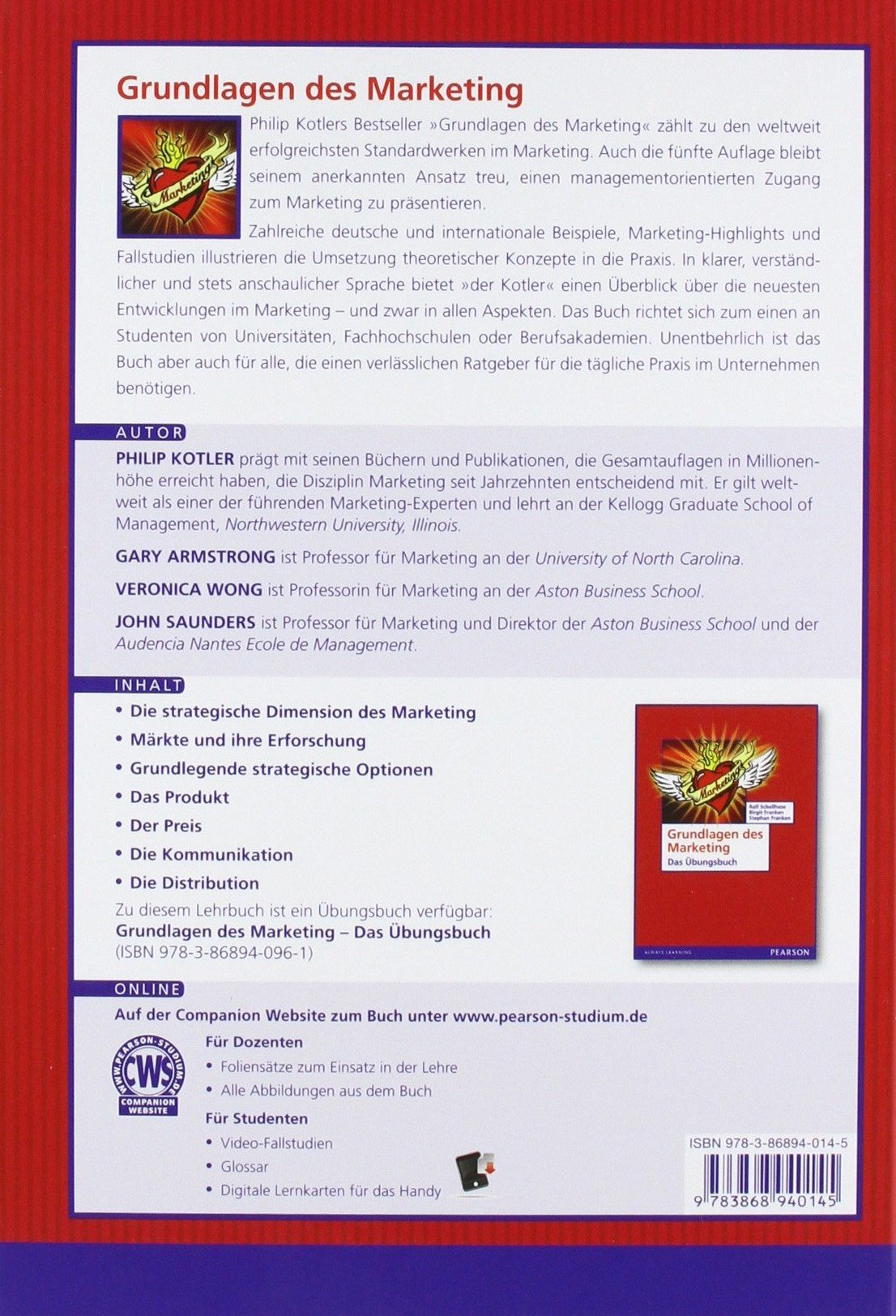 Grundlagen des Marketing (Pearson Studium - Economic BWL) - Philip ...