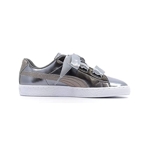 Baskets basses Puma Heart Lunar Lux Baby coloris Smoked Pearl 0sWmSHrr