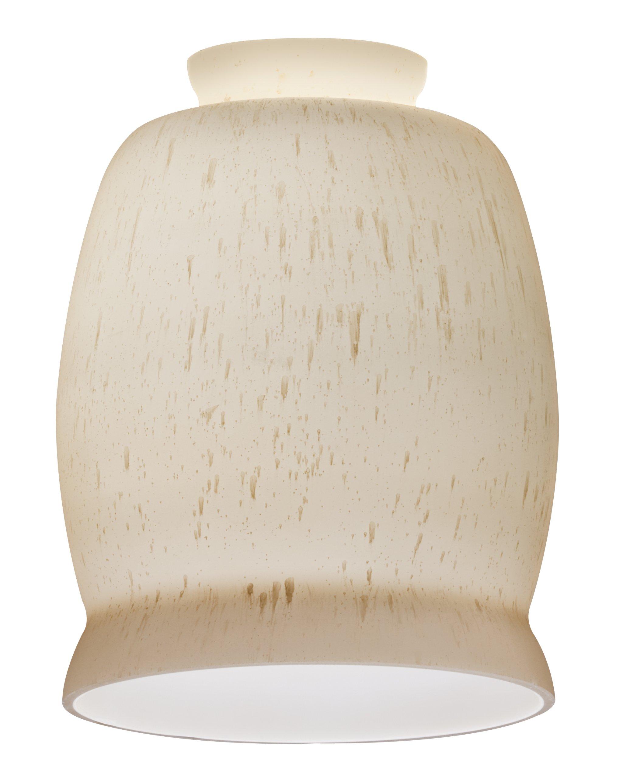 Lithonia Lighting DBIL 1015 M6 Decorative Bill Shade, Rain Drop