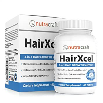 #1 Hair Loss Supplement & DHT Blocker - Natural 3-in-1 Remedy for Hair  Recovery and Regrowth with