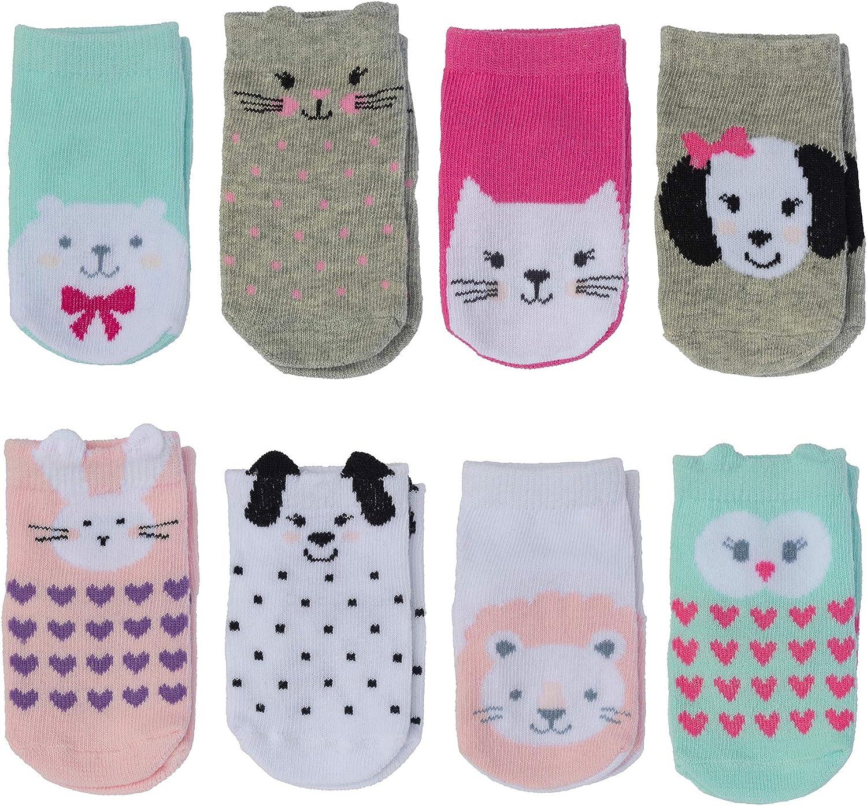 Animal Theme Little Me Baby Girls Baby Girl Socks