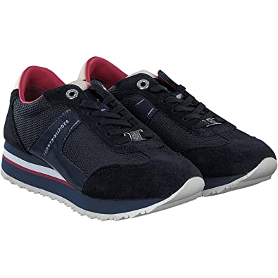 dbc888959 Zapatos A1285NGEL 1C1 Hilfiger Flag Tommy Navy T-38  Amazon.co.uk ...
