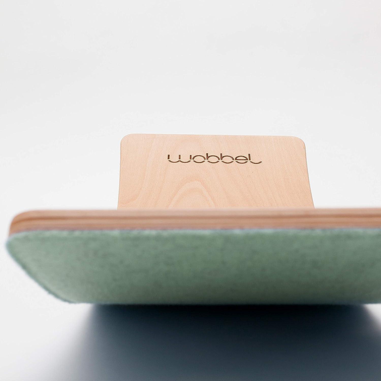 Wobbel Board Starter, transparent, Filzfarbe wählbar, (schwarz) Filzfarbe wählbar