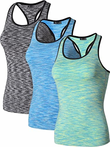Jeansian Mujer Chalecos Deporte Corriendo Medias Exercise Training Fitness Yoga Quick-Drying Compres...