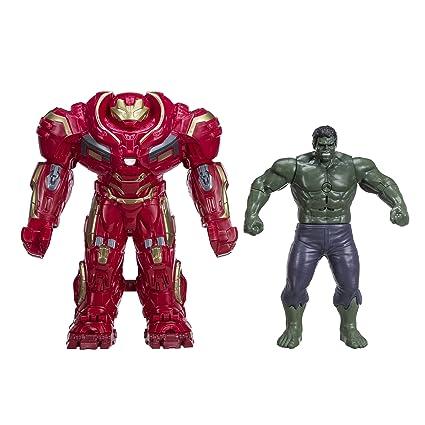 amazon com marvel avengers infinity war hulk out hulkbuster toys