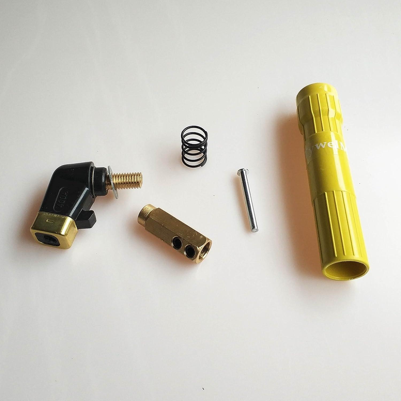 Elettrodo porta elettrodi per saldatura forgiato rame Tooth twist-lock saldatura morsetto tipo di vite morsetto