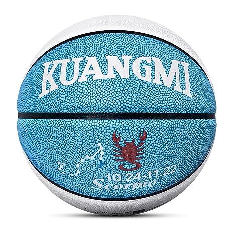 Kuangmi el balón de Baloncesto 12 Constelaciones diseño tamaño 7 ...