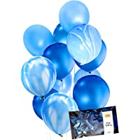 """30pc Agate Party Marble Decoration Balloon (Thick 12"""" Helium Quality) for Wedding Engagement Birthday Baby Shower Party Balloons, Photo Booth, Backdrop, Arch - by Tokyo Saturday"""