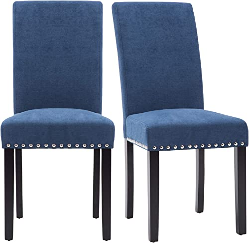 NOBPEINT Dining Chair Upholstered Fabric Dining Chair