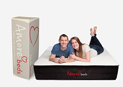 Amore Beds Best Hybrid Organic Cotton Medium Firmness Mattress King