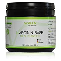 L-Arginine Base 300g Powder Hochdosiert | 100% Vegetable Fermentation–Premium Quality–Maximum Organic Availability | for Extra Strength, Endurance, Concentration and many others.