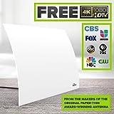 Mohu Arc Digital TV Antenna, 40-Mile Range, Designer Edition, Indoor, 4K ready (Open Box)