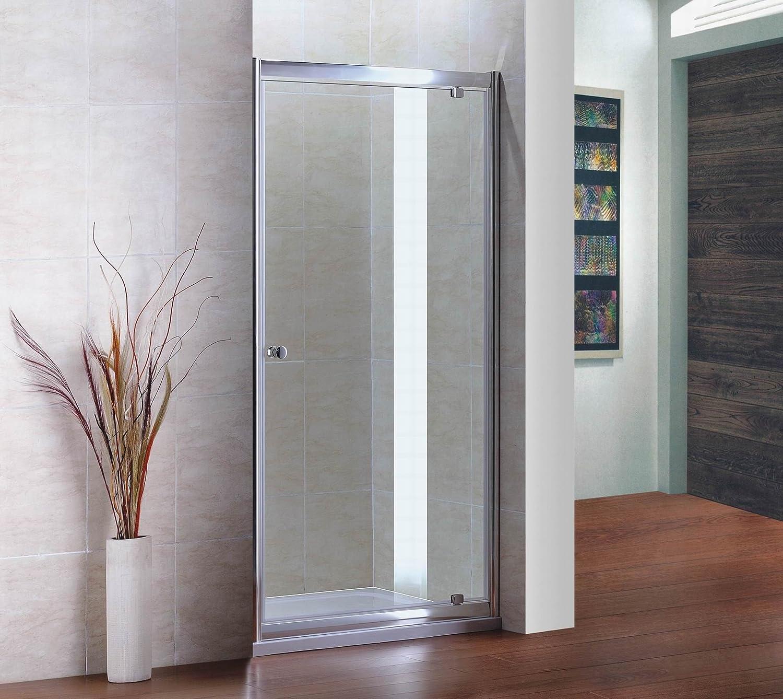 900 x 800 mm mampara de ducha recinto de la puerta: Amazon.es: Hogar