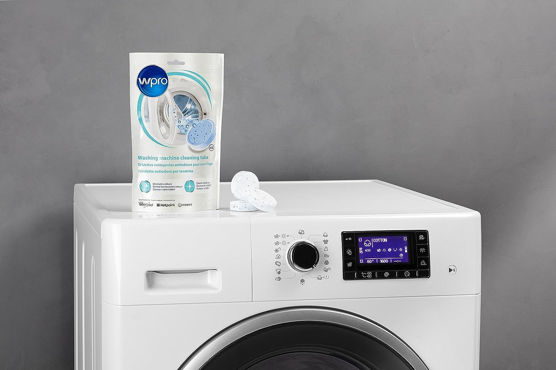 Wpro AFR307 Limpiador de lavadora profesional, 3 pastillas: Amazon ...