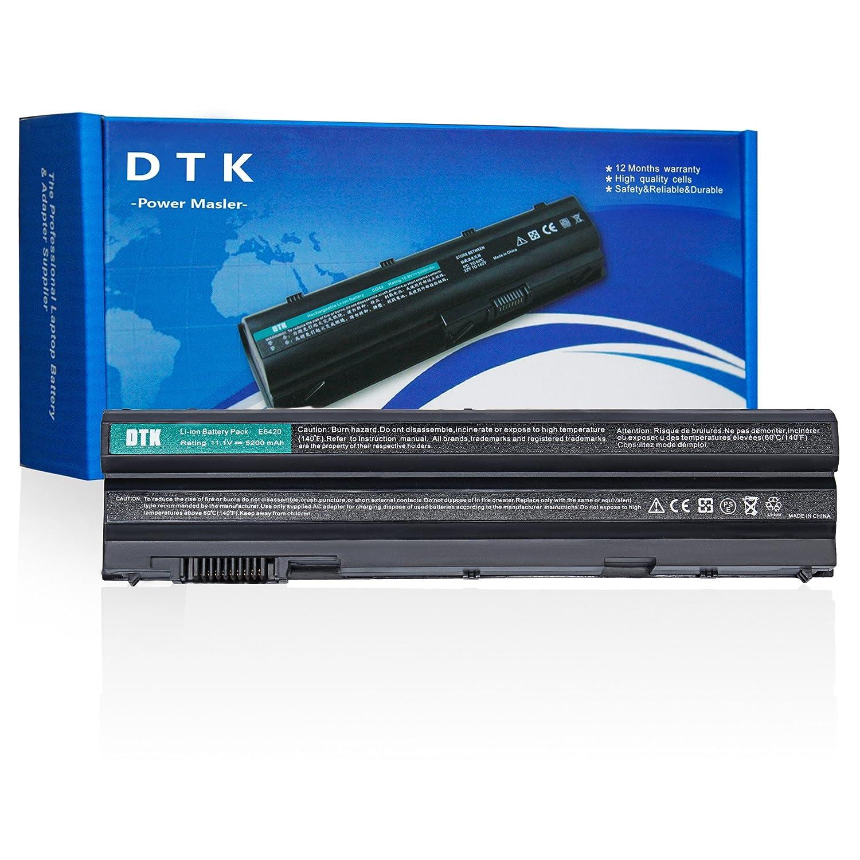 Amazon.com: Dtk Laptop Notebook battery for Dell E5420 E5430 E5530 E6420  E6430 E6520 E6530 Inspiron 4420 5420 5425 7420 7520 4720 5720 M421R M521R  N4420 ...