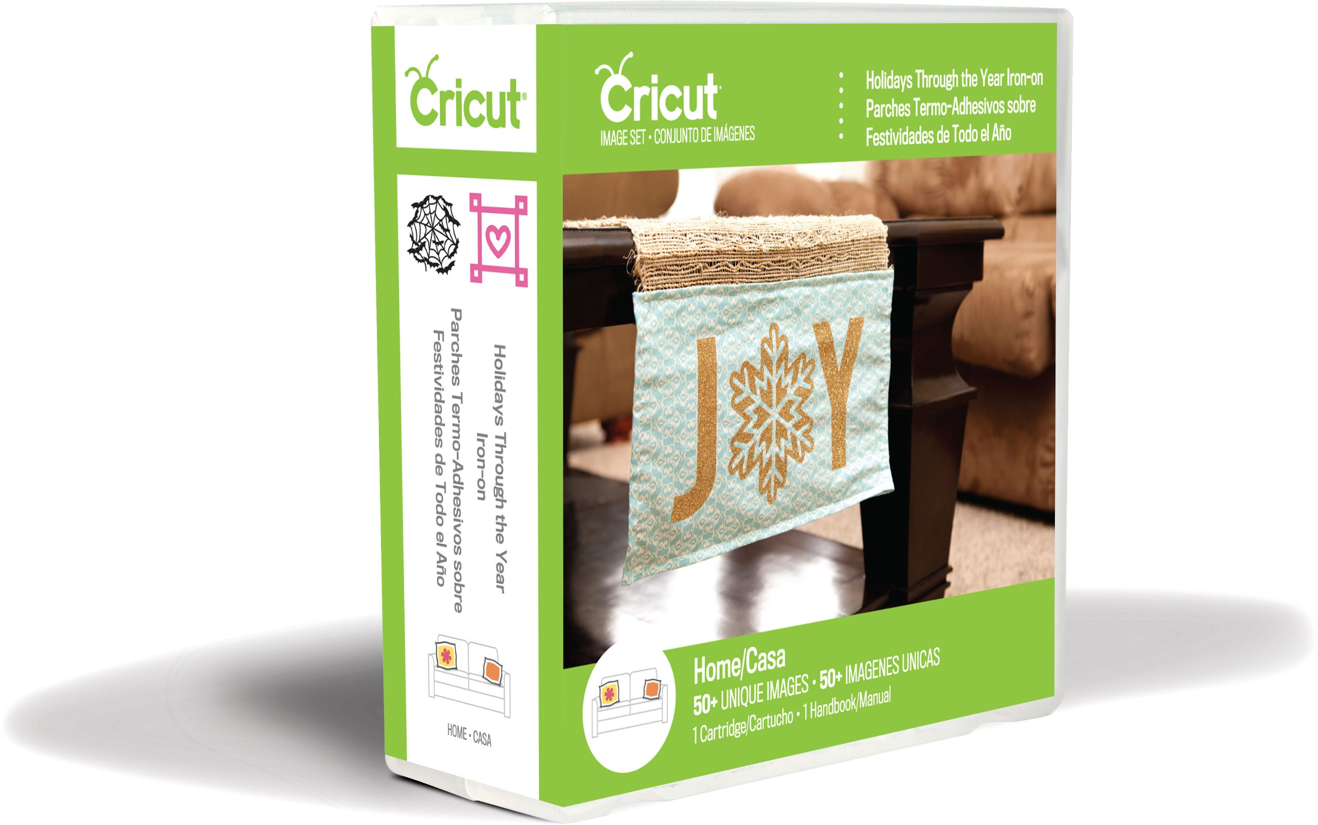 Cricut Holidays Through The Year Iron-on Cartridge