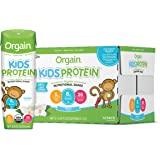 Orgain Organic Kids Protein Nutritional Shake, Vanilla - Great for Breakfast & Snacks, 26 Vitamins & Minerals, 10 Fruits…