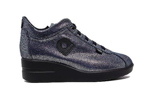 f00cdba5d1894 AGILE BY RUCOLINE Sneakers Donna 226 A Pasha Silver Navy Nuova Collezione  Autunno Inverno 2016 2017  Amazon.it  Scarpe e borse