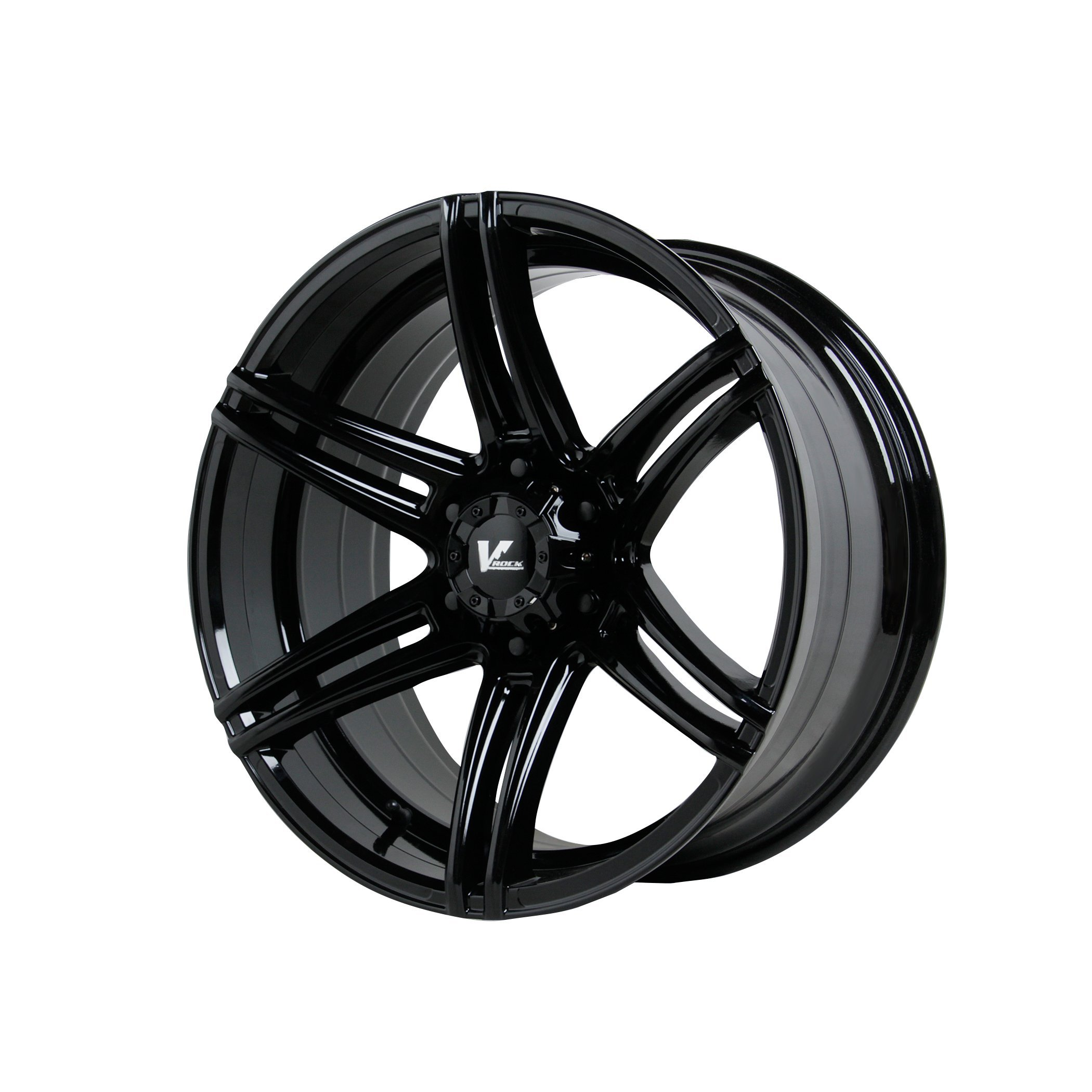 V-Rock VR9 Terrain Matte Black Wheel (17x9.5''/5x5'')