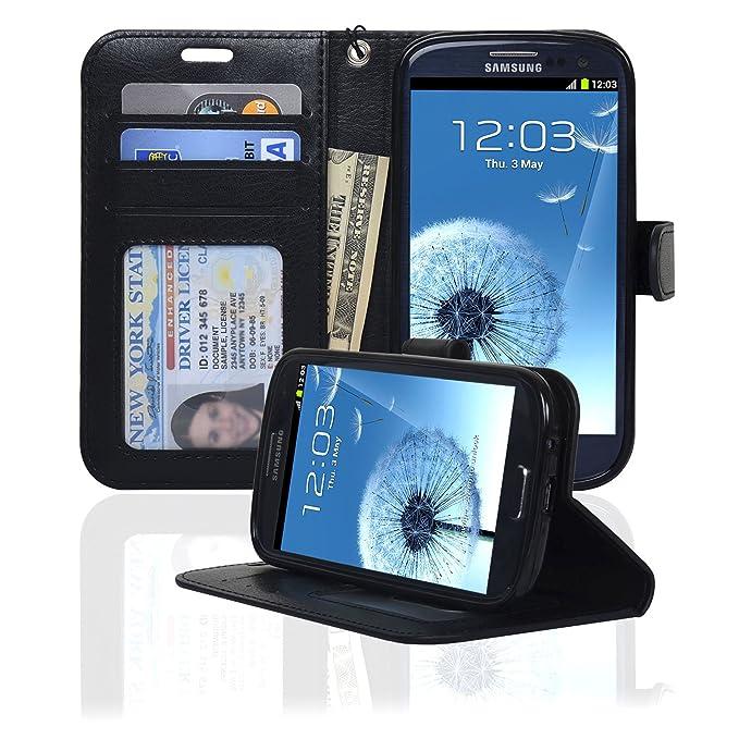 Samsung Galaxy S3 Navor Deluxe Tipo Libro Funda Tipo Cartera ...