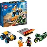 LEGO City Stunt Team 60255 Bike Toy, Cool Building Set for Kids