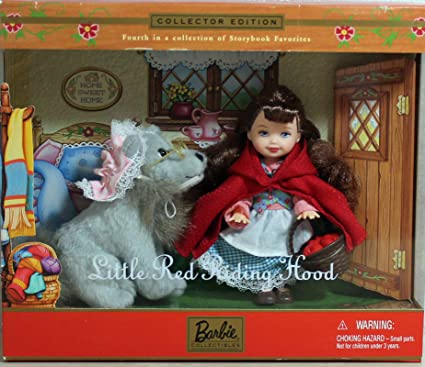 Amazon Com Kelly Doll As Little Red Riding Hood With The Wolf
