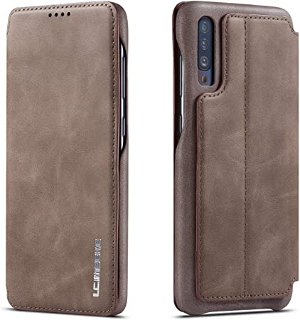 Qltypri Hülle Für Samsung Galaxy A70 Premium Pu Leder Elektronik