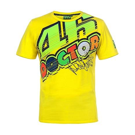 Maglietta Valentino it Shirt TgXlAmazon Vr46 Rossi T Uomo Giallo DYEHW29I